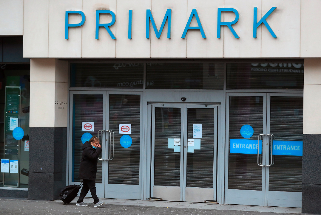 Primark's parent Associated British Foods plc estimates that first-half sales losses will reach $1.56 billion due to Covid-19 lockdowns.