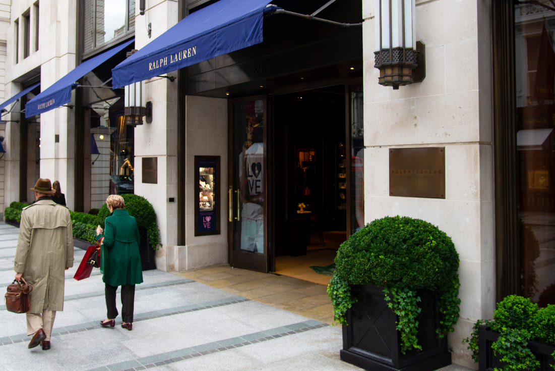 Ralph Lauren Corp. on Thursday, which posted third quarter results, said its corporate restructuring is on track as it moves to stage two.
