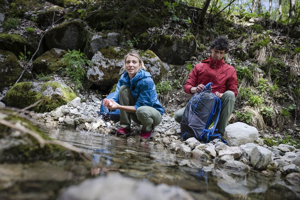 Outdoor brand Vaude has introduced a pair of trekking pants that uses a bio-based plastic fiber made from the oil of the castor plant.