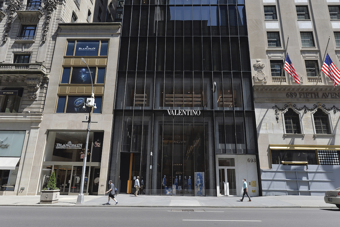 Valentino is being sued by its landlord for $207.1 million for breaking its Fifth Avenue flagship store lease nearly a decade early.