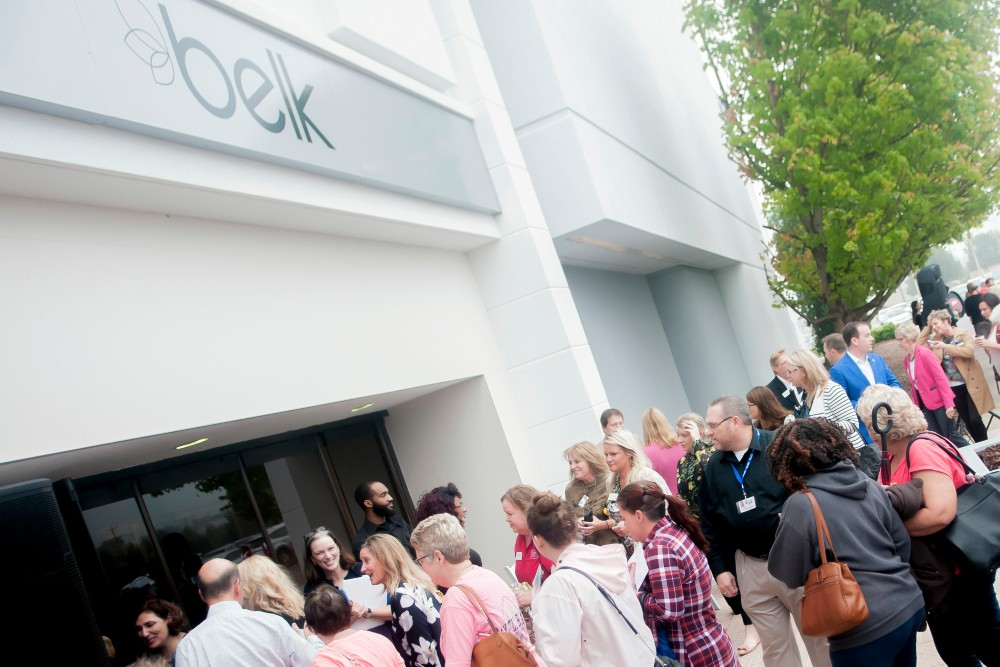 Department store retailer Belk files Chapter 11 for a quick one-day tour of bankruptcy court to fix its balance sheet.