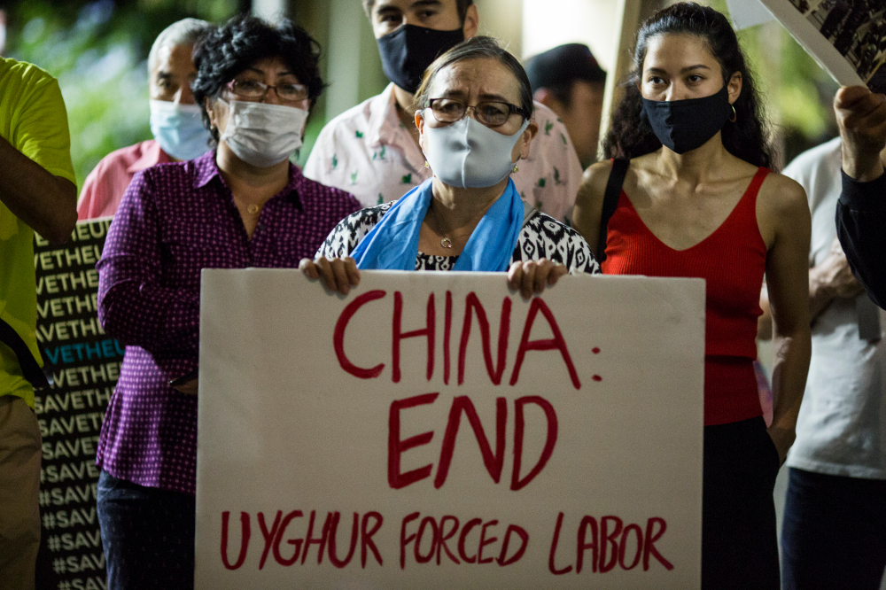 """Two dozen human-rights groups urge President Biden to be tough on human rights with China amid the Uyghur crisis deemed a """"genocide."""""""