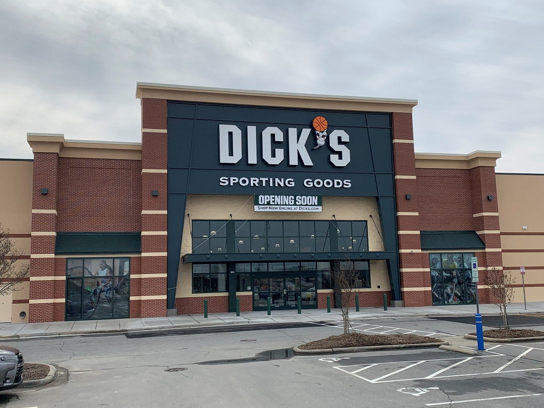 Dick's Sporting Goods is expanding its store footprint in February with one new namesake banner location and four Warehouse Sale stores.