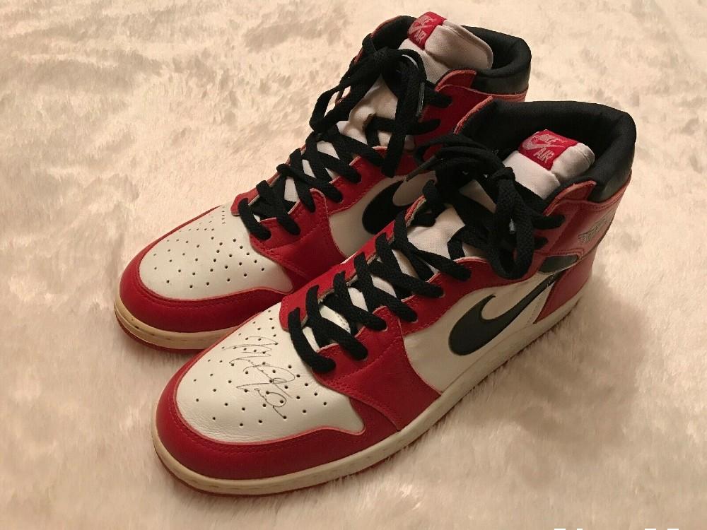 An eBay seller has listed a pair of signed Air Jordan 1s for $1 million