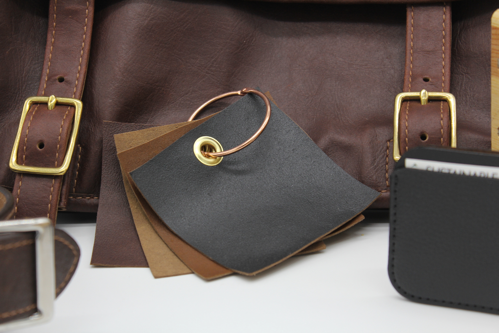Enspire, a recycled leather nearly indistinguishable from its virgin counterpart, saves waste and money and caters to eco-minded consumers.
