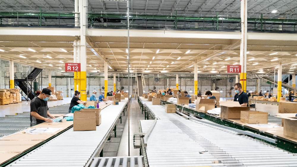 Gap Inc. will break ground on a new automated Texas distribution center in April that will process 1 million units daily via Kindred robots.