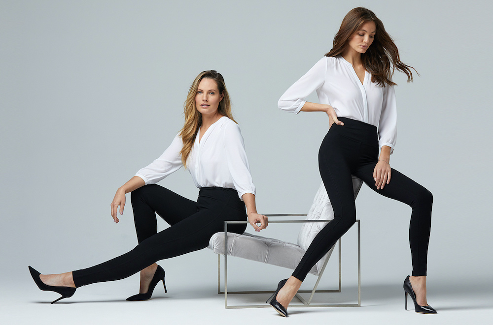 NYDJ introduced Sculpt-Her, a versatile collection of figure-flattering leggings and slimming pull-on skirts.
