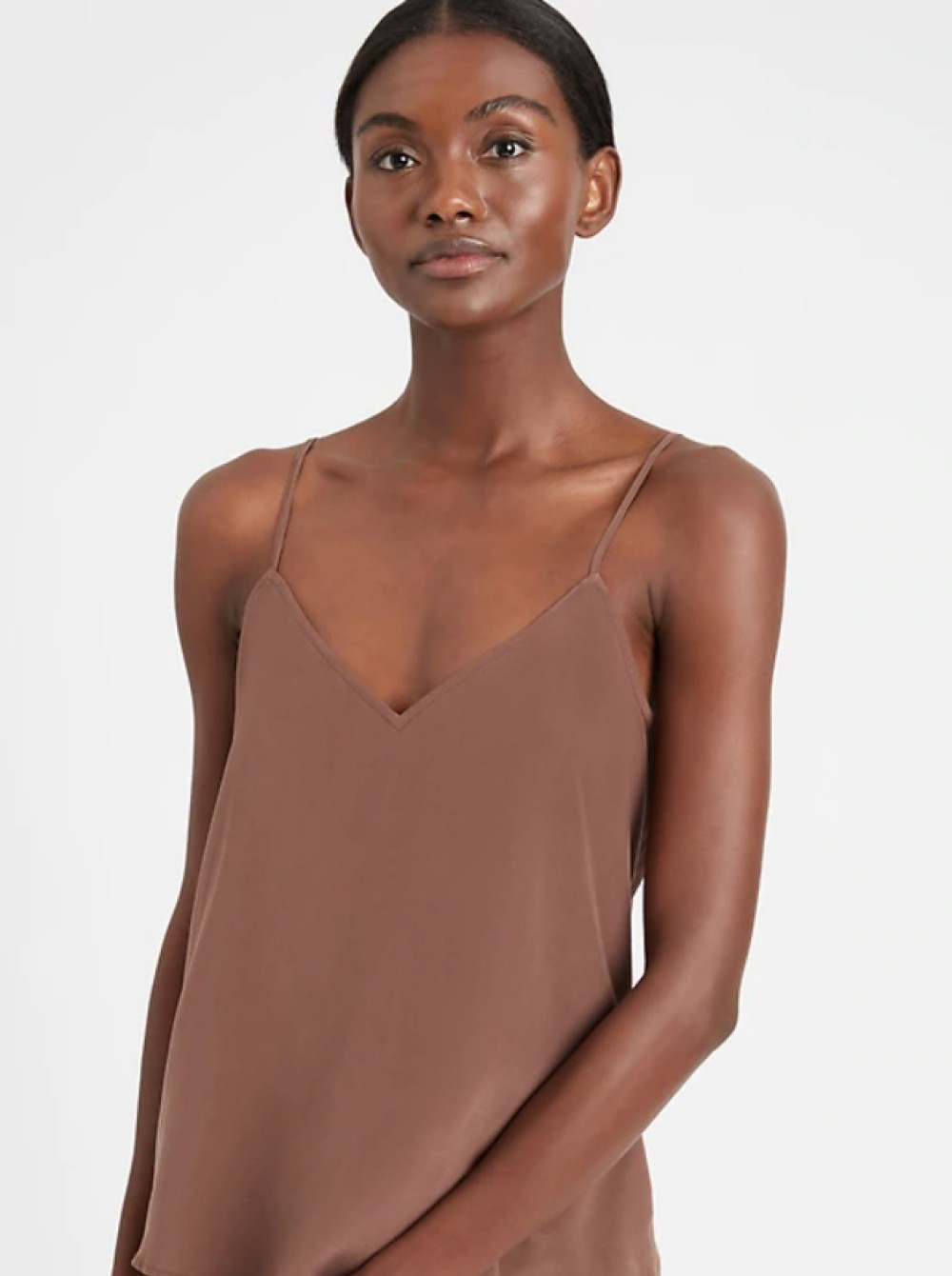 Banana Republic launched 11 skin tone-matching shades for its True Hues collection offers camisoles, pumps and other basics.