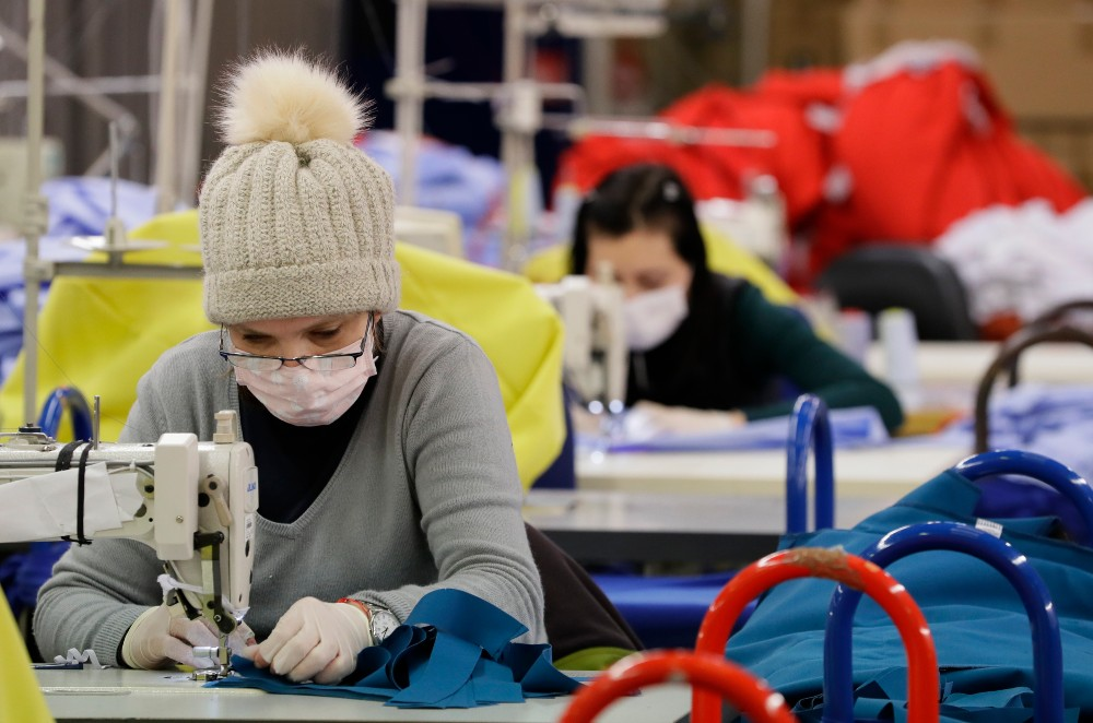 Female garment workers in the U.K. are among the most at-risk populations for Covid-19, says the nation's Office of National Statistics.