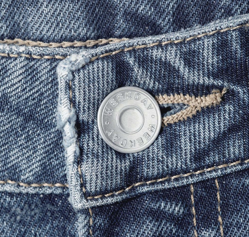 On Thursday, Weekday released just 64 pairs of women's jeans made with Infinited Fiber Company's unique regenerated textile fiber, Infinna.