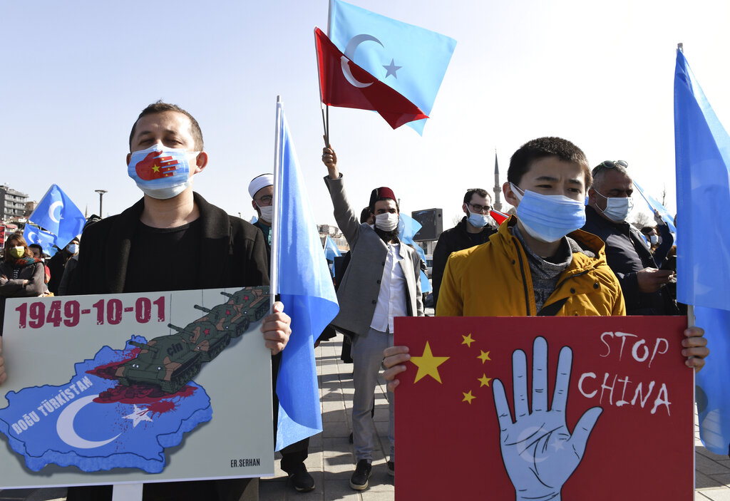 """China bears """"state responsibility"""" for committing genocide against Uyghurs, Kazakhs and other Turkic Muslim minorities, a new report says."""