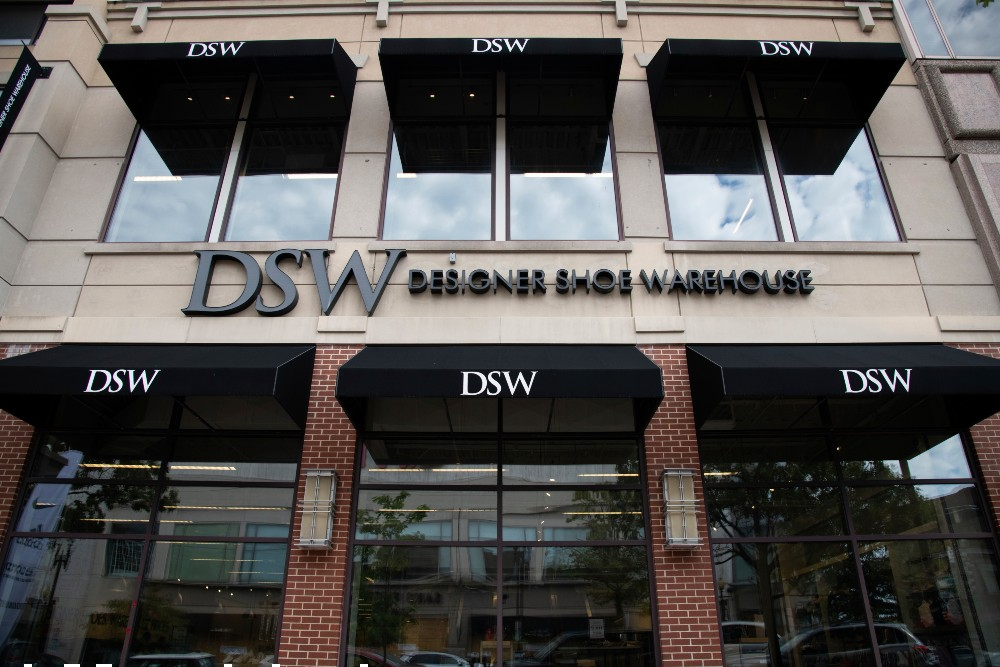 Designer Brands plans to grow athleisure to 50 percent of DSW's assortment this spring.