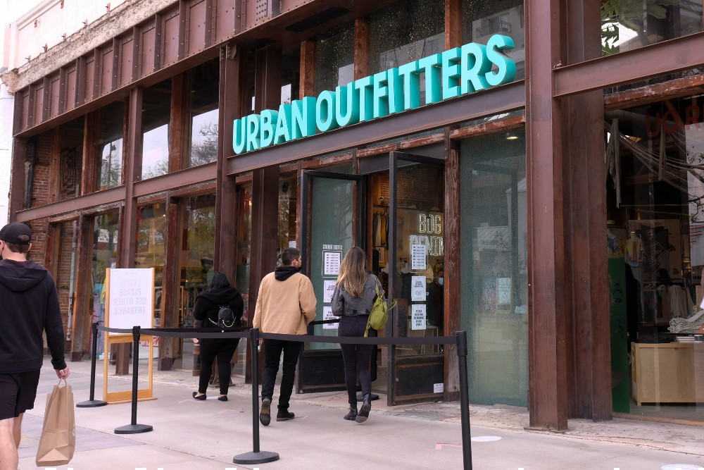Nike is reportedly cutting ties with six retailers, including Urban Outfitters