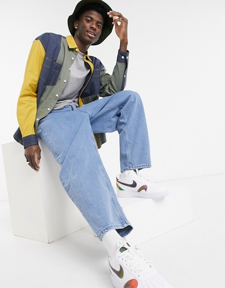 Asos Design debuted denim for men and women that uses 50 percent less water during washing and finishing compared with conventional jeans.