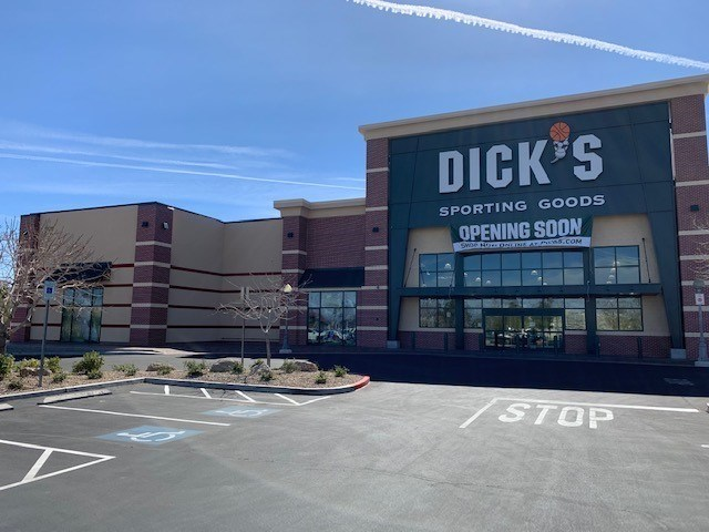 Dick's Sporting Goods is prepping four more store openings in March and is working on two new experiential stores in New York and Tennessee.
