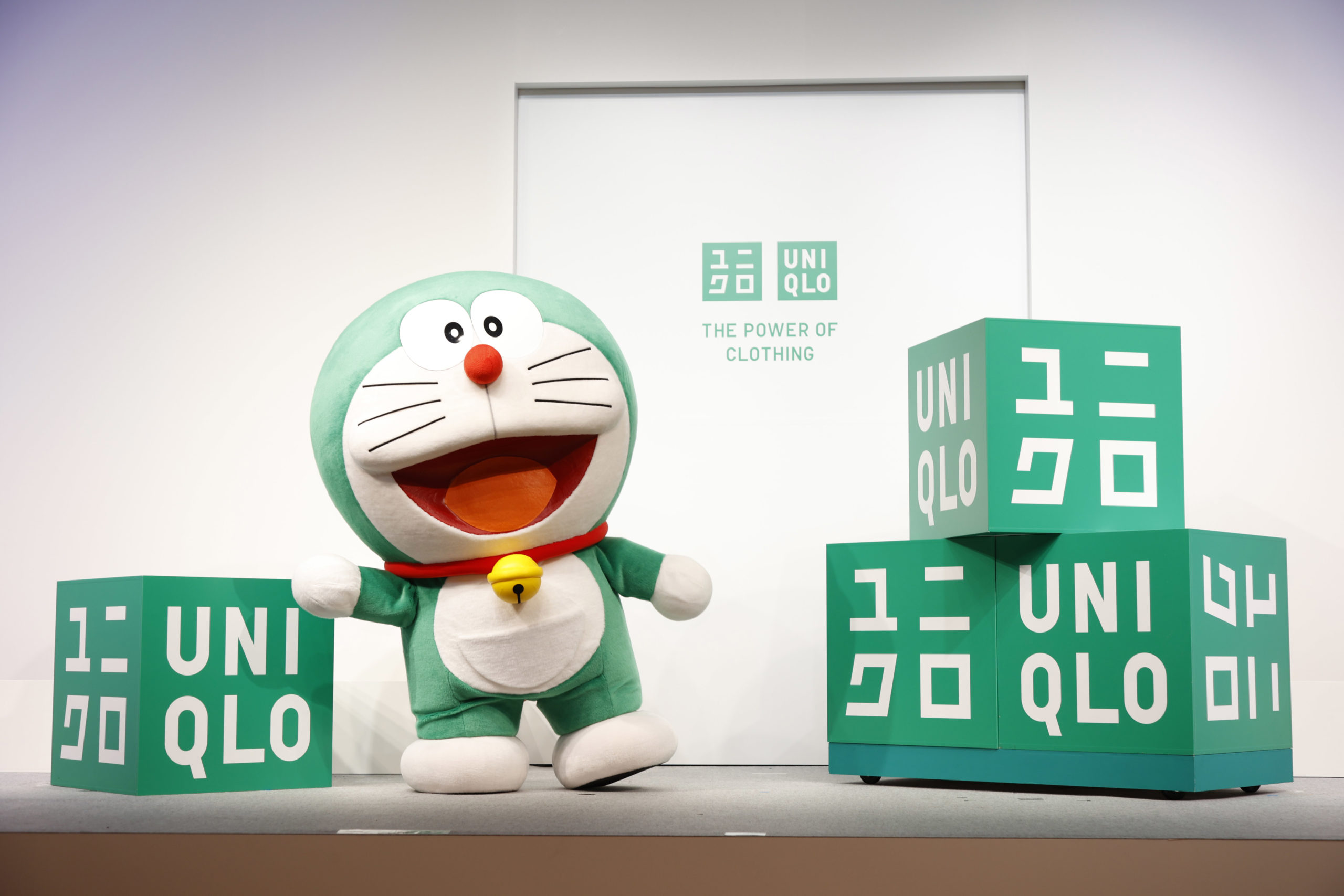 Uniqlo has named Doraemon global ambassador for sustainability.
