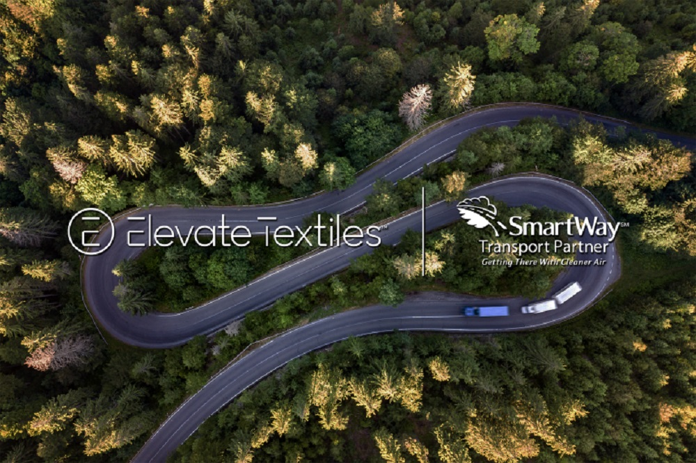 Elevate Textiles announced that it has joined the U.S. Environmental Protection Agency SmartWay Transport Partnership.