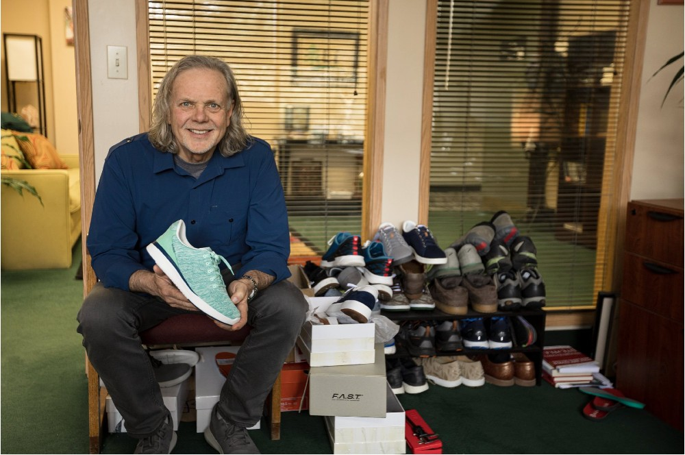 Former Nike leader Skip Lei is leading the footwear business at Handsfree Labs and Kizik