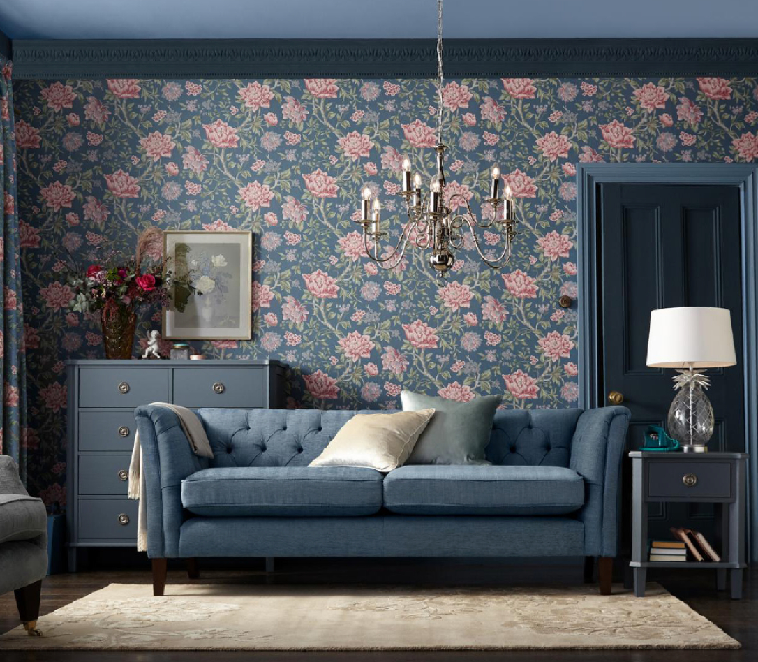 Laura Ashley Home's spring 2021 collection is now available online and in select Next stores in the U.K., according to Gordon Brothers.