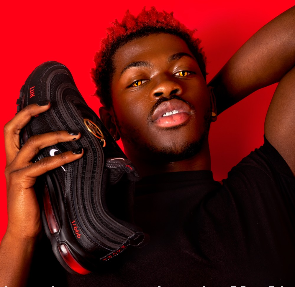 Lil Nas X collaborated with MSCHF on the Satan Shoe, but was not named in Nike's lawsuit