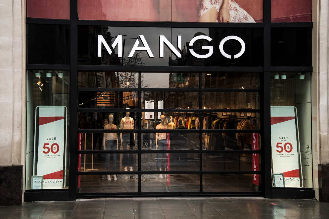 Online sales at Mango were $908.2 million, representing 42% of total turnover in 2020.