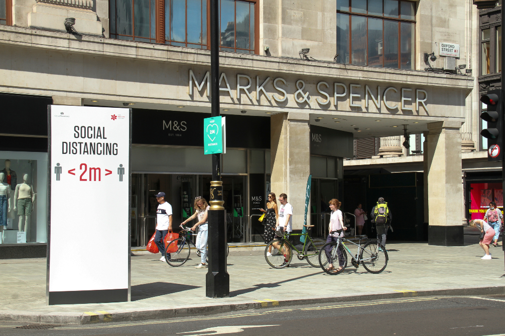 As sales migrate online, British retail chain Marks and Spencer aims to revamp and monetize its iconic Oxford Street flagship store.