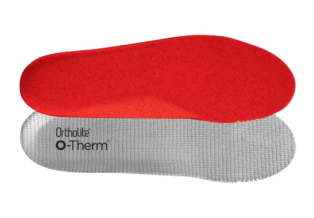 Ortholite's O-Therm insoles infuse PU foam with aerogels to create a thermal barrier