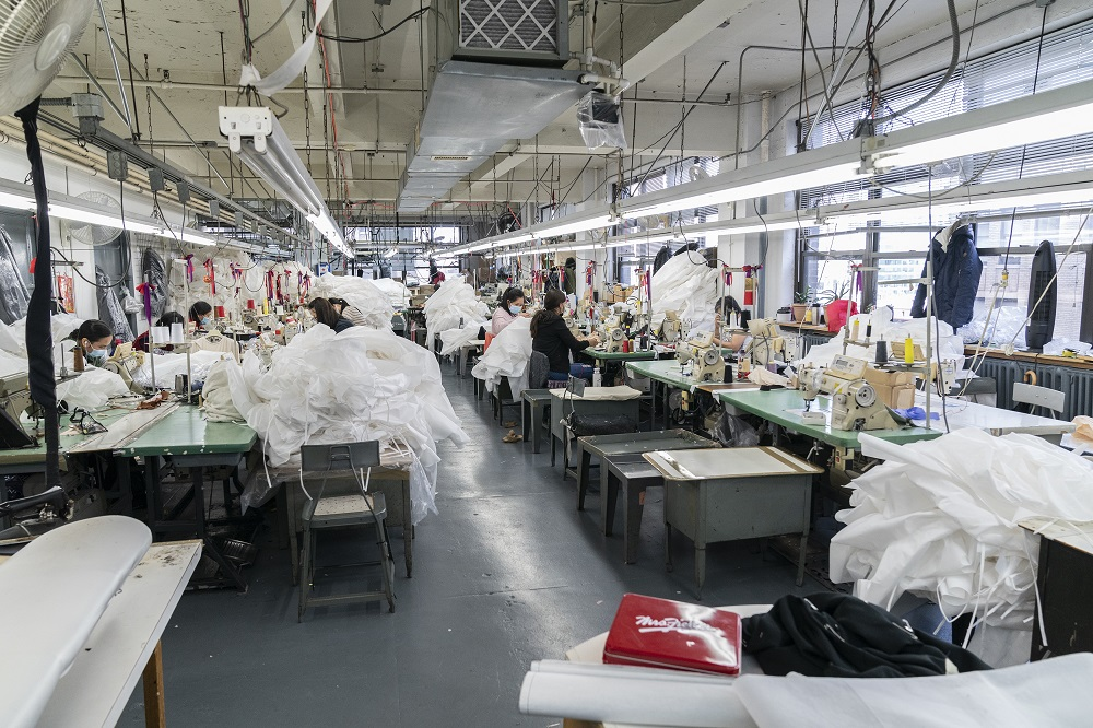 The U.S. textile industry was reflective of the pandemic-influenced American economy in 2020, while also spinning its own unique yarn.
