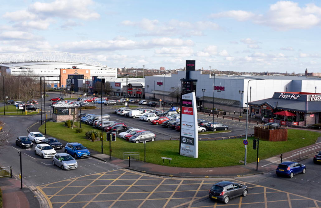 Mike Ashley's Frasers Group adds the Robin Retail Park shopping center in Wigan to its asset holdings for an undisclosed purchase price.