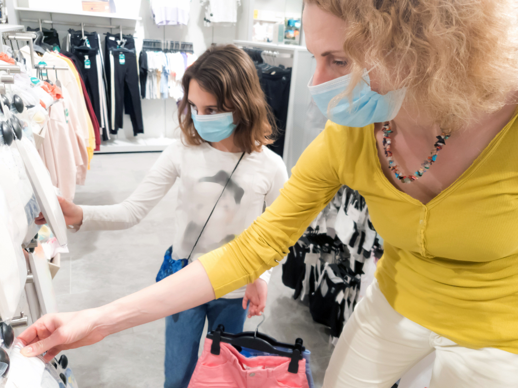 Coresight Research polled 402 consumers last month and the results could be welcome news for apparel retailers hurting for footfall.
