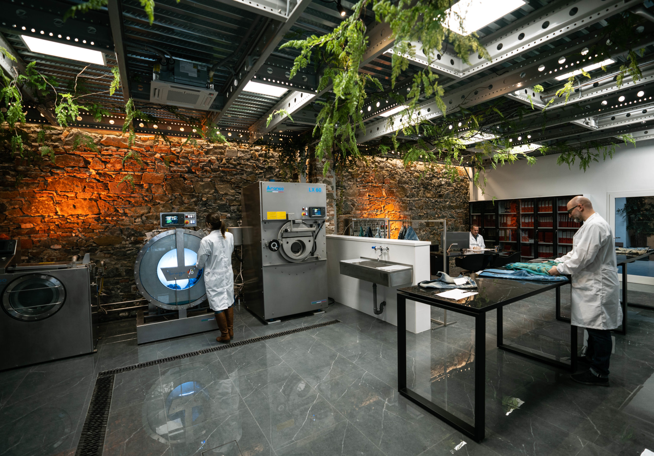 Italian chemical company and research lab Soko Chimica created The Innovation Hub to solve for textile and denim industry sustainability.