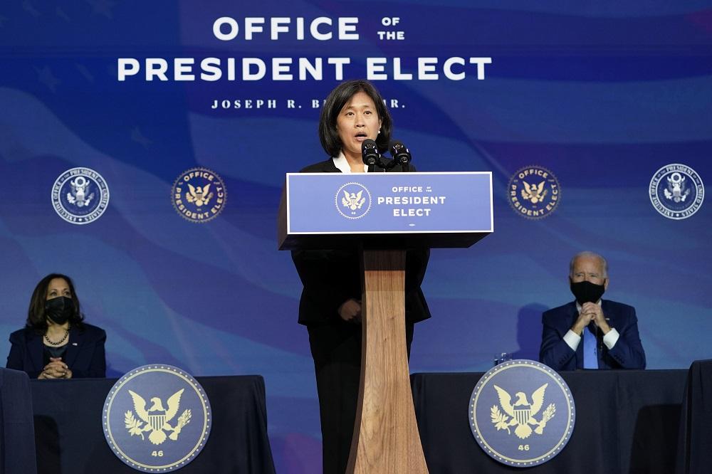 AAFA CEO Steve Lamar urged newly confirmed U.S. trade representative Katherine Tai to eliminate Trump's tariffs on China-made products.
