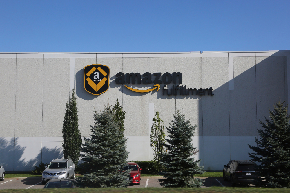 Local health authorities ordered workers at an Amazon facility in Canada to quarantine for two weeks, effectively halting operations for 14 days.