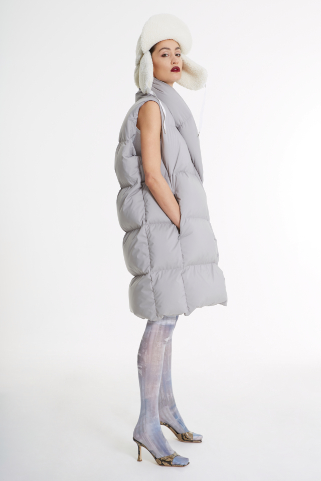 A sleek, spacey aesthetic emerged during fashion month, Heuritech reported.
