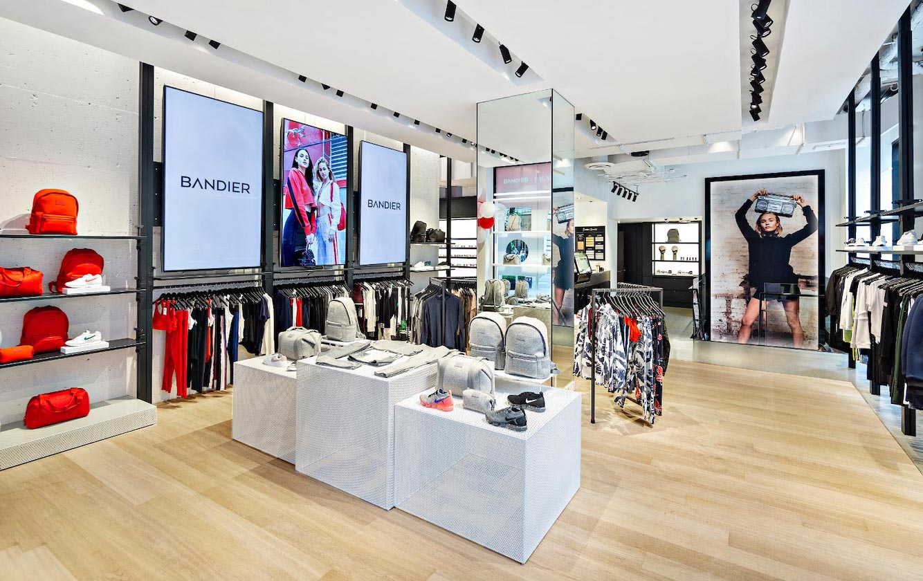 Luxury women's activewear retailer Bandier is bringing two of its top-selling brands, private labels All Access and WSLY, to Amazon.