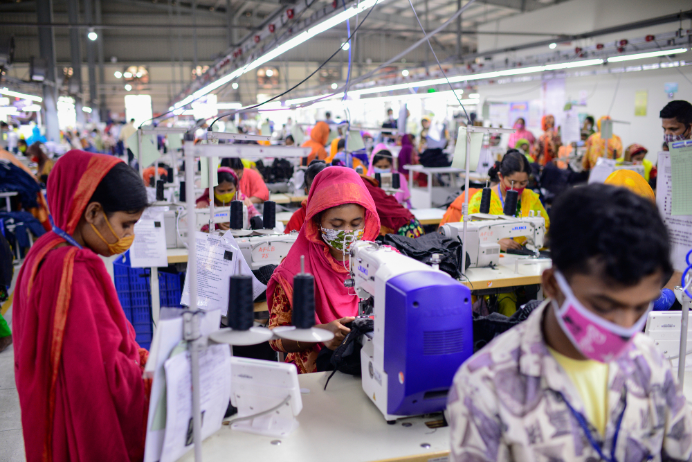 A one-two punch of pandemic pressures and sourcing shifts means Bangladesh's garment sector is up against steep challenges, McKinsey says.