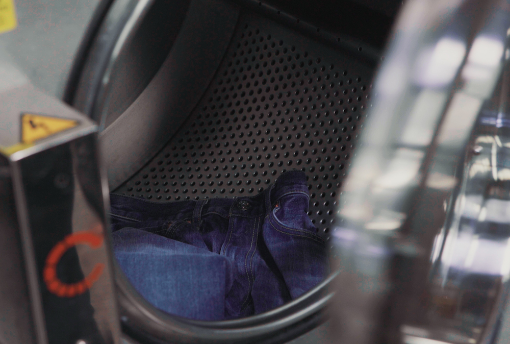 Uniqlo bowed BlueCycle, a new program that reduces the amount of water used in the denim finishing by up to 99 percent.