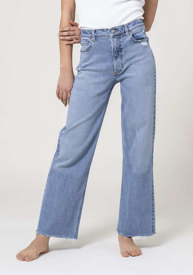 Candiani Denim Store and Boyish Jeans debuted The Mikey Jean, a limited-edition women's style made with Coreva stretch denim.