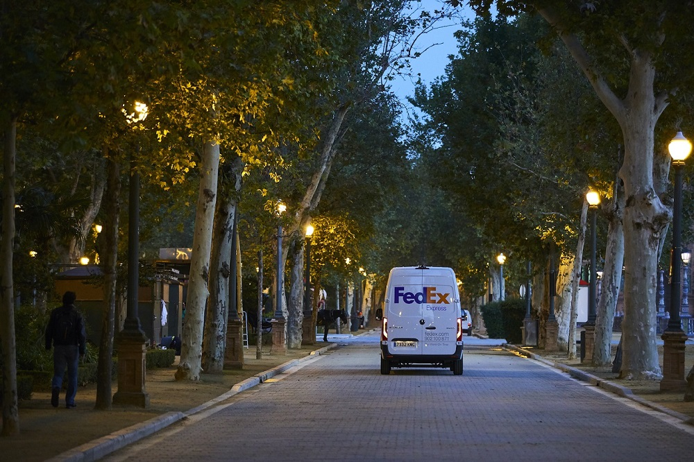 FedEx Corp. has an ambitious plan to achieve carbon–neutral operations globally by 2040, including a $2 billion initial investment.