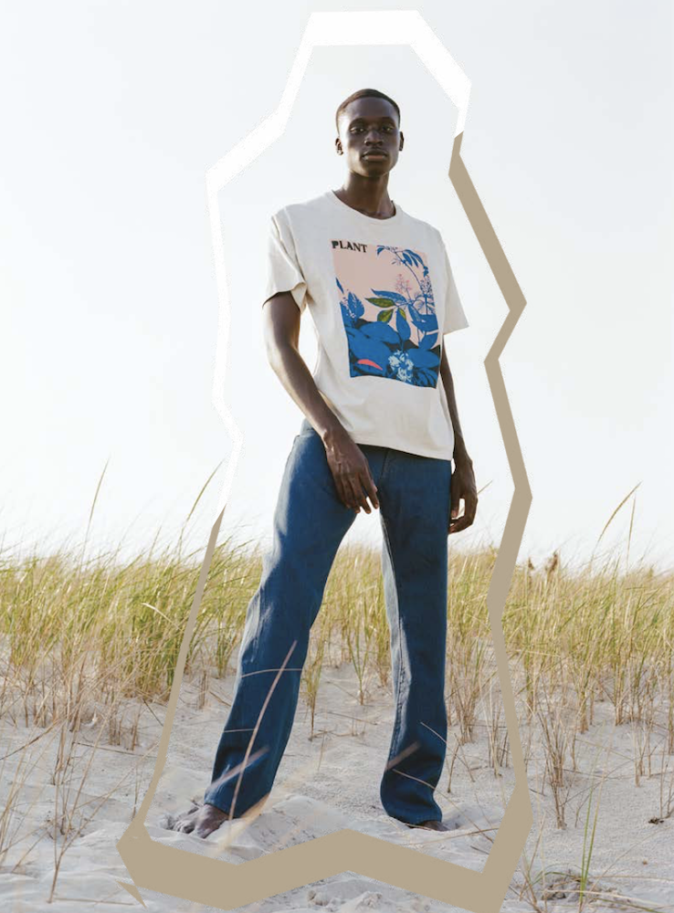 Levi's Wellthread Spring/Summer 2021 collection features sustainable fabrications with more hemp, looser fits and natural dyes.