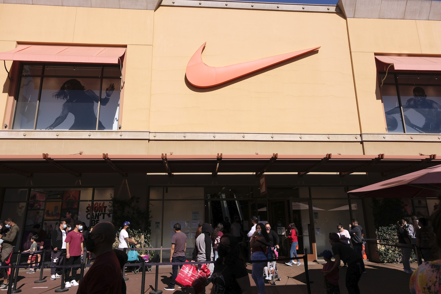 While third-quarter revenues at Nike were down 1 percent to $10.4 billion, port congestion tanked North American sales by 10 percent.