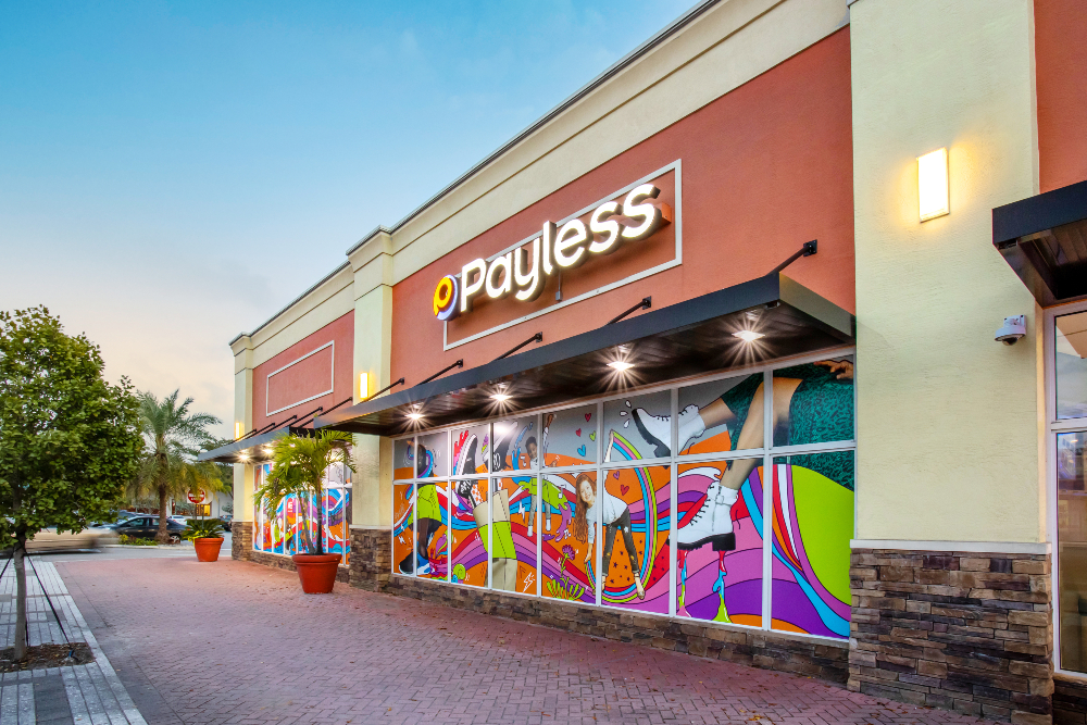 Two years after shuttering 2,100 U.S. locations, affordable footwear retailer Payless opened what it expects to be the first of 300 to 500 stores.