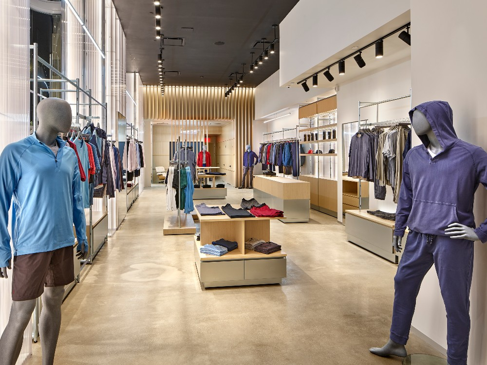 Men's activewear direct-to-consumer Rhone opened a sprawling NYC flagship, and announced plans for a Boston store later this spring.