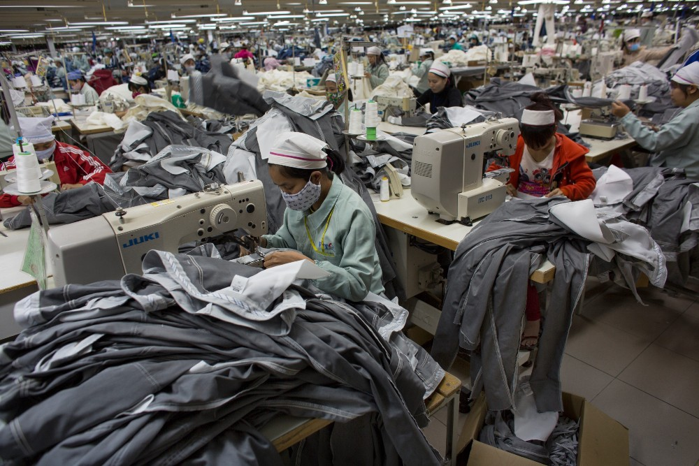Vietnam's Chamber of Commerce and Industry says 97 percent of the country's garment sector saw high negative impacts due to Covid-19.