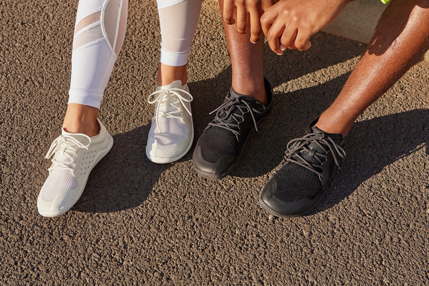 Vivobarefoot reconstructed its signature sneakers with fewer but eco-friendlier materials.