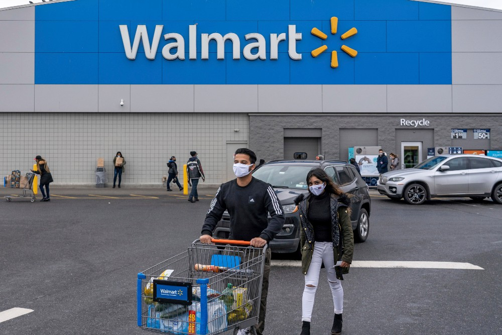 Walmart plans to invest $350 billion in American manufacturers over the course of the next 10 years.