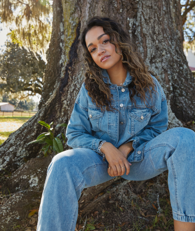 Behind denim's rejuvenation, according to AEO executives, is pent-up demand for pre-pandemic fashion and the much-touted new denim cycle.