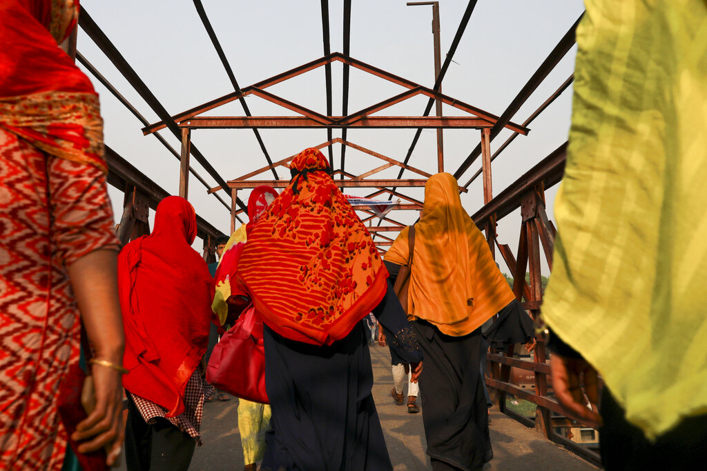The Worker Rights Consortium estimates that garment workers laid off during the pandemic are owed between $500 million and $850 million.