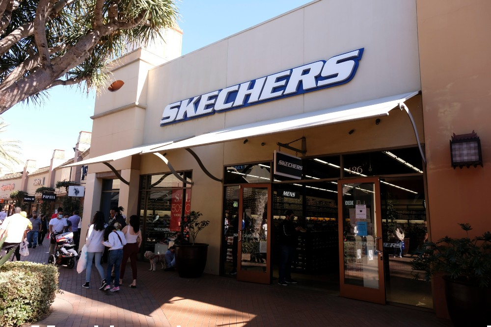 Skechers saw sales grow 15 percent year-over-year in the first quarter.