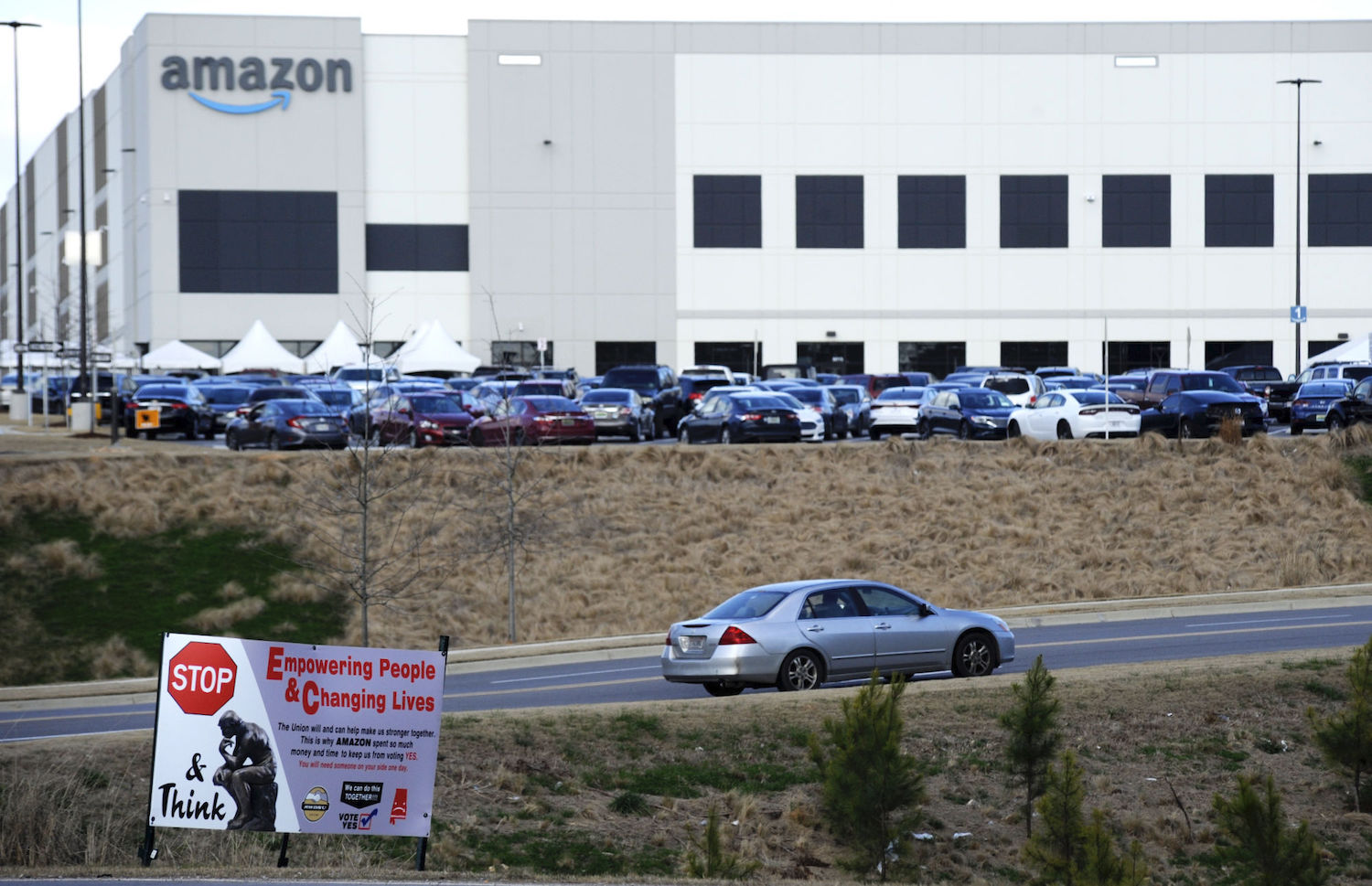 The RWDSU filed 23 objections charging that Amazon interfered with the unionization vote of 5,800 Bessemer, Ala., warehouse employees.